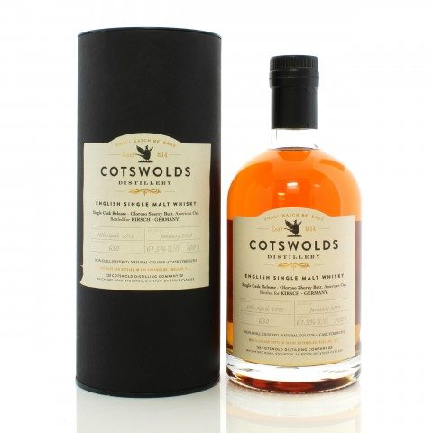 Cotswolds 2015 4 Year Old Single Cask - Germany