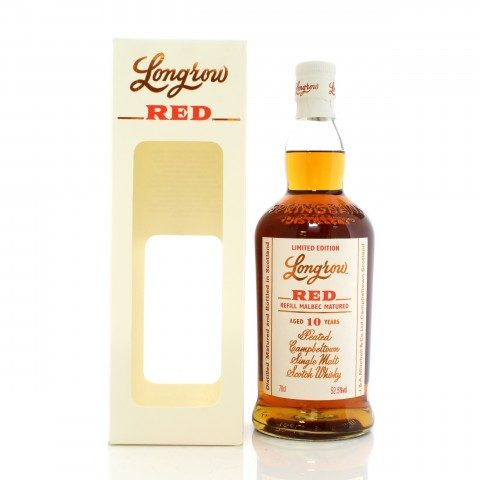 Longrow 10 Year Old Red Malbec