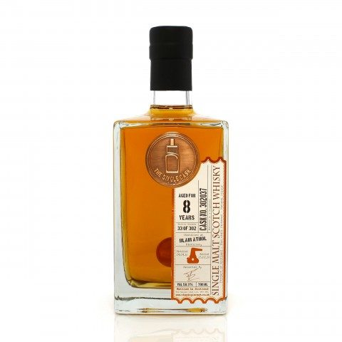 Blair Athol 2011 8 Year Old Single Cask #302037 The Single Cask