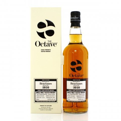 Benrinnes 2010 10 Year Old Single Cask #9128586 Duncan Taylor The Octave