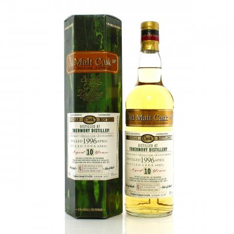 Tobermory 1996 10 Year Old Single Cask #1655 Douglas Laing Old Malt Cask