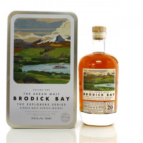 Arran 20 Year Old Explorer's Series Volume One - Brodick Bay