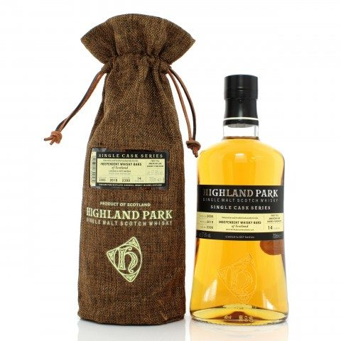 Highland Park 2005 14 Year Old Single Cask #2390 - Independent Whisky Bars of Scotland