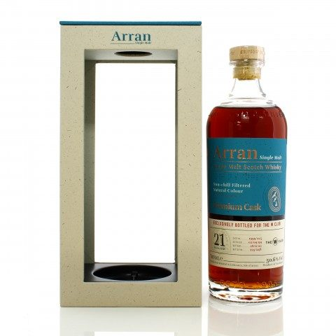 Arran 1999 21 Year Old Single Cask #225 - W Club