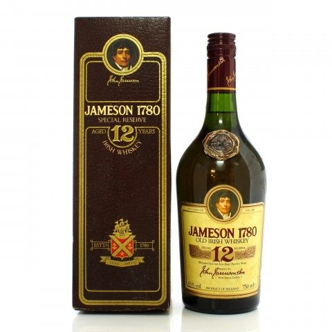 Jameson 12 Year Old 1780 Reserve