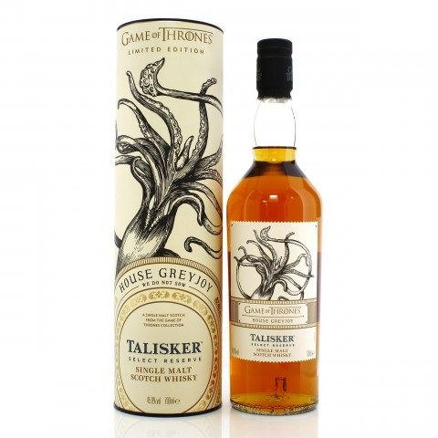 Talisker Game of Thrones - House Greyjoy