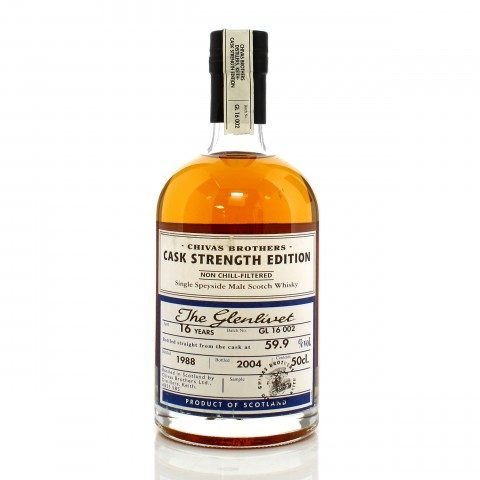 Glenlivet 1988 16 Year Old Cask Strength Edition