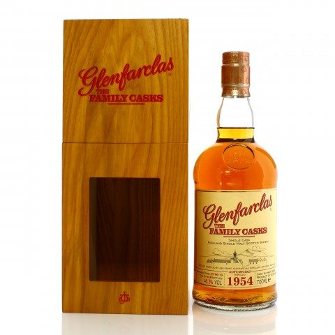 Glenfarclas 1954 Single Cask #1253 The Family Casks Autumn 2013