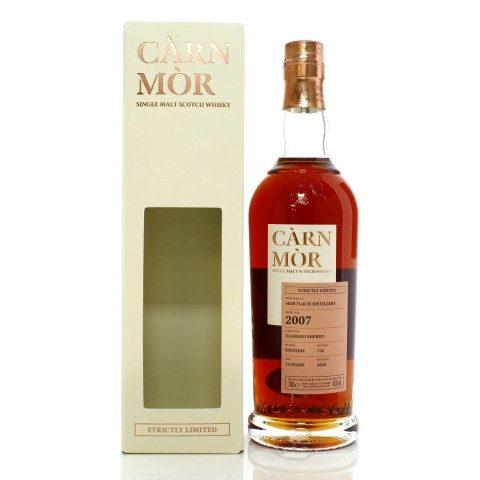 Mortlach 2007 13 Year Old Carn Mor Strictly Limited