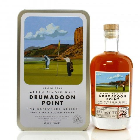 Arran 23 Year Old Explorer's Series Volume Four - Drumadoon Point