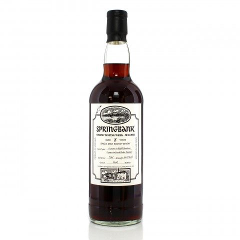 Springbank 8 Year Old - Virtual Tasting 2021