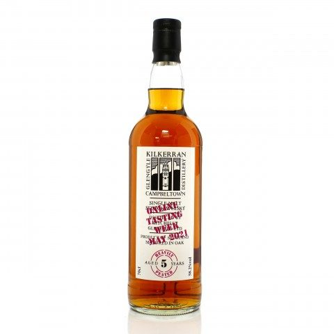 Kilkerran 5 Year Old Heavily Peated - Virtual Tasting 2021