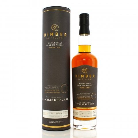 Bimber Single Cask #68 Re-Charred Oak Cask