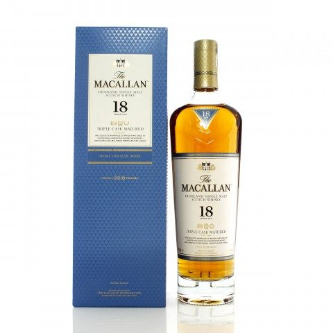 Macallan 18 Year Old Triple Cask 2018 Release