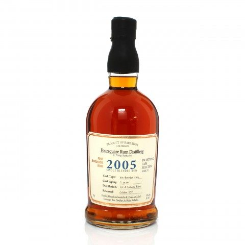 Foursquare 2005 12 Year Old Exceptional Cask Selection