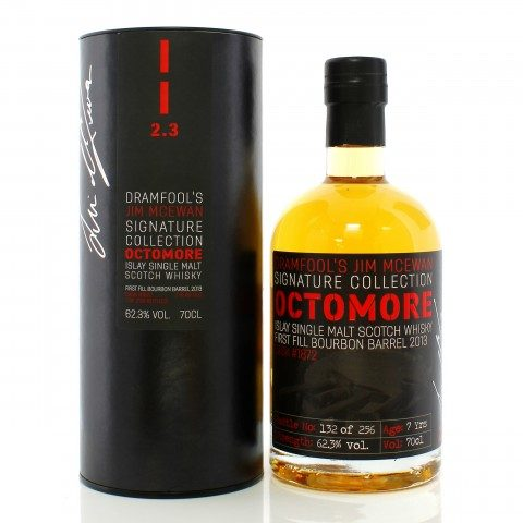 Octomore 2013 7 Year Old Single Cask #1872 Dramfool's Jim McEwan Signature Collection 2.3