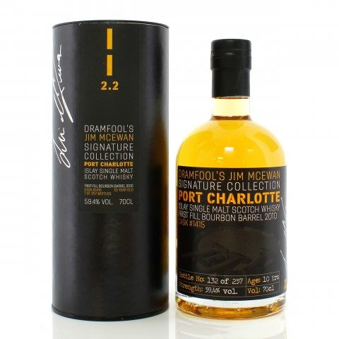 Port Charlotte 2010 10 Year Old Single Cask #1415 Dramfool's Jim McEwan Signature Collection 2.2