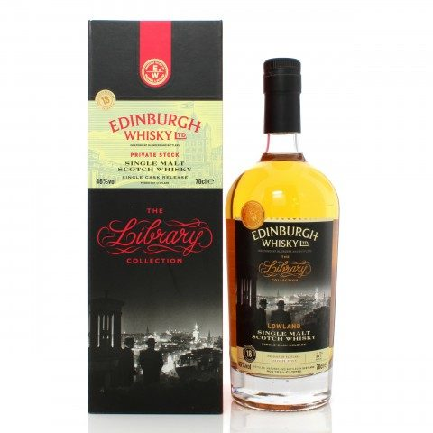 Auchentoshan 1998 18 Year Old Single Cask Edinburgh Whisky Ltd. The Library Collection