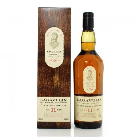 Lagavulin 11 Year Old Offerman Edition 1st Release