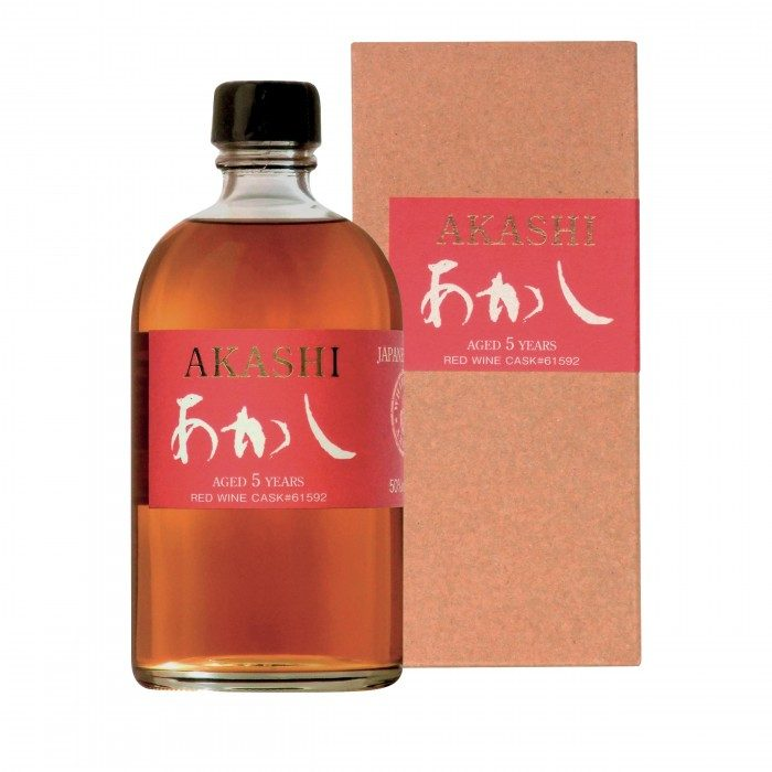Akashi 5 ans Red Wine Single Cask
