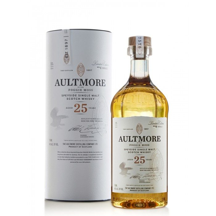 Aultmore 25 ans Limited Edition
