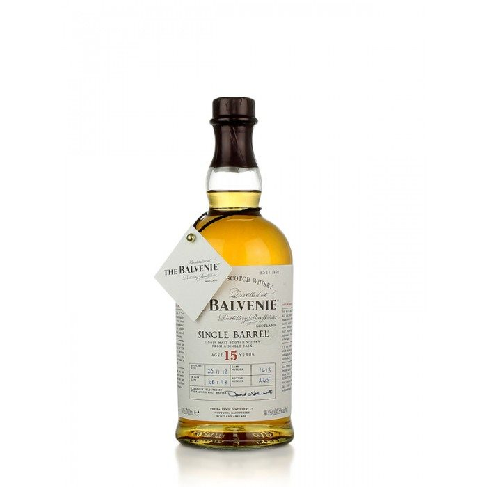 The Balvenie 15 ans sherry cask