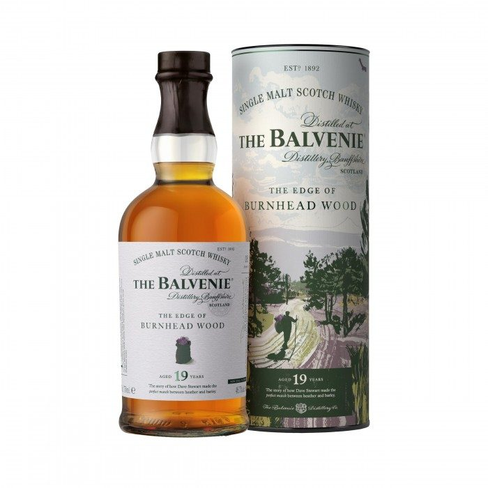 Balvenie The Edge of Burnhead Wood 19 Year Old with box