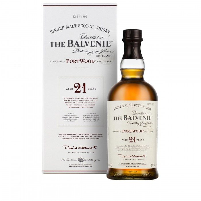 Balvenie 21 Year Old PortWood with box