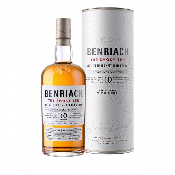 Benriach The Smoky Ten with box