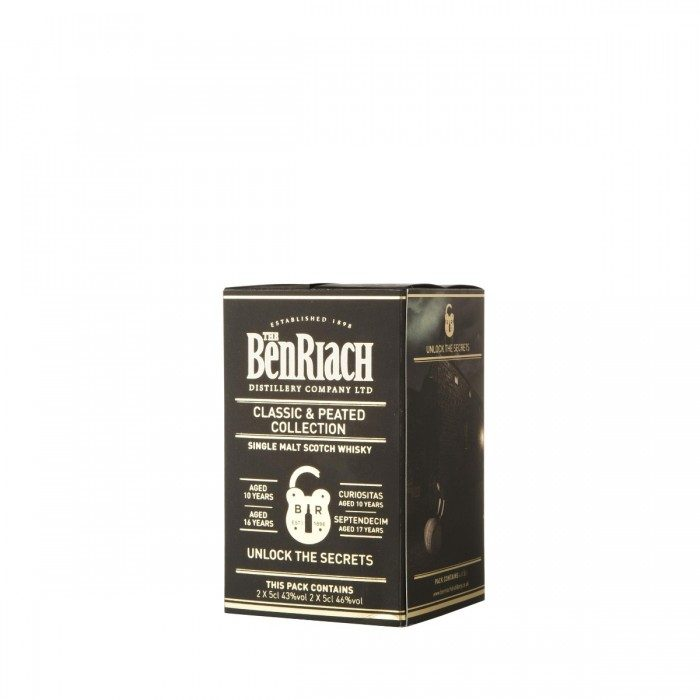 BenRiach Classic & Peated Gift Pack 4x5cl