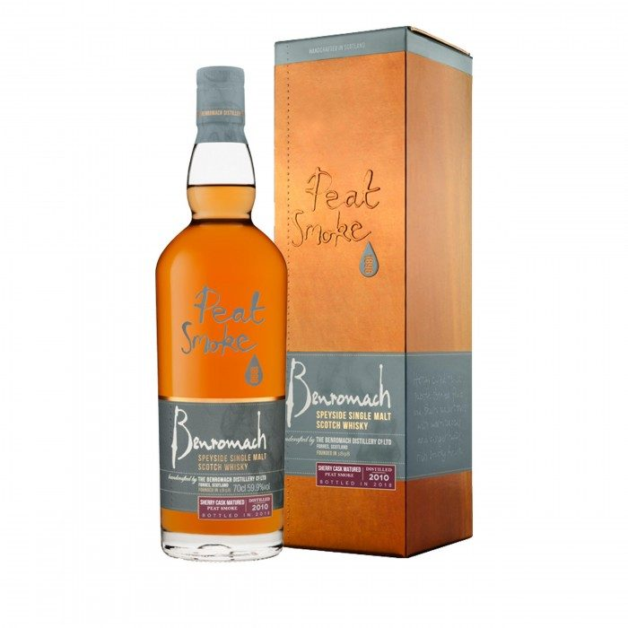 Benromach Peat Smoke Sherry Cask Matured with box