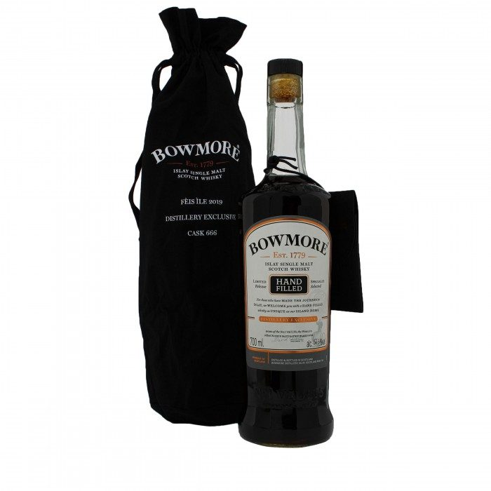 Bowmore Feis Ile 2019 Cask #666 with bag