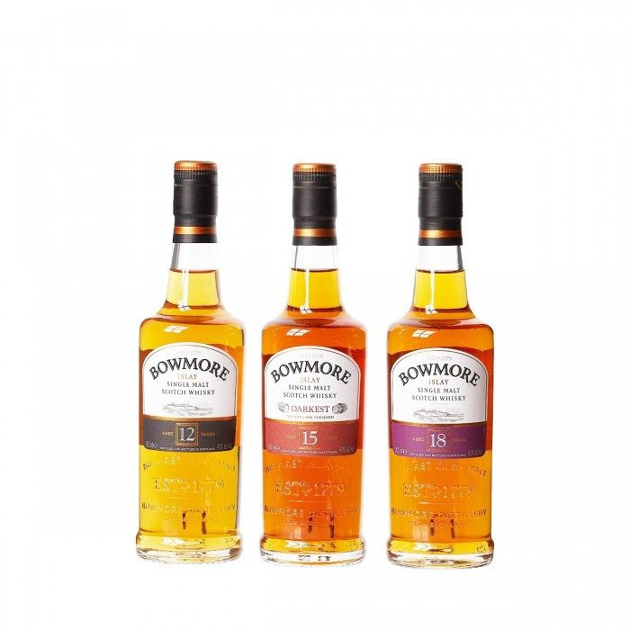 Bowmore Gift Pack 3x20cl