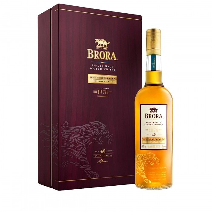 Brora 40 Year Old 200th Anniversary with box