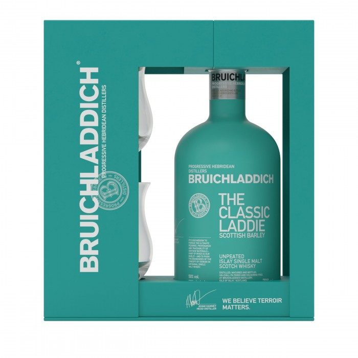 Bruichladdich The Classic Laddie Scottish Barley Gift Pack