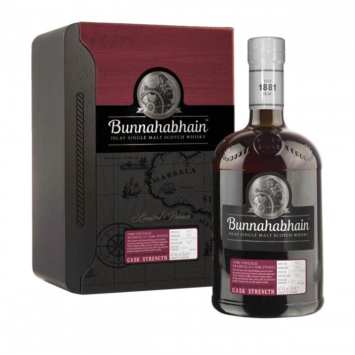 Bunnahabhain 1988 Marsala Cask Finish with case