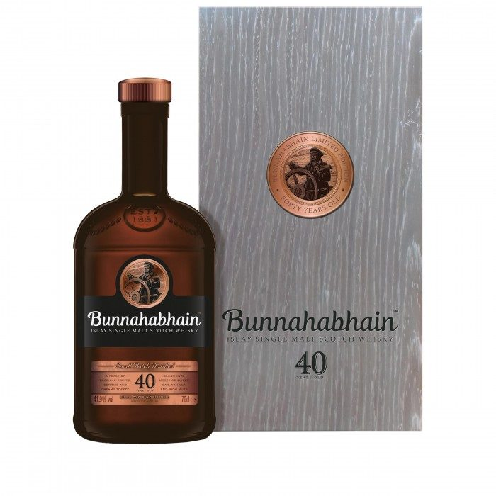 Bunnahabhain 40 Year Old with case