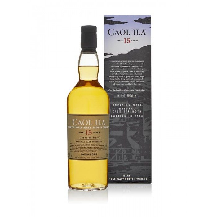 Caol Ila 15 Year Old Unpeated 2018 Special Release