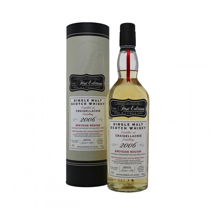 First Editions Craigellachie 2006 with box