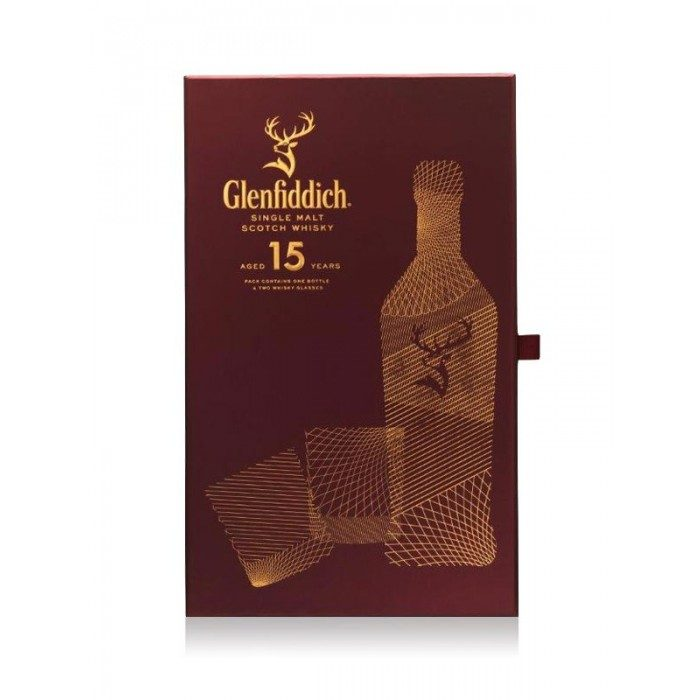 Glenfiddich 15 Year Old Gift Set