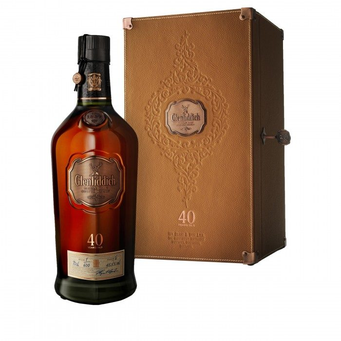 Glenfiddich 40 Year Old with case