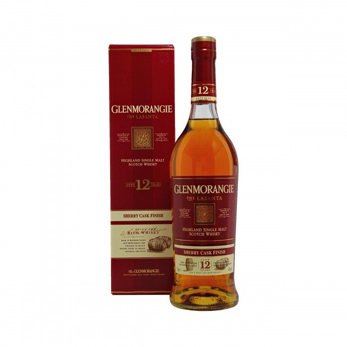 Glenmorangie The Lasanta 12 Year Old with box