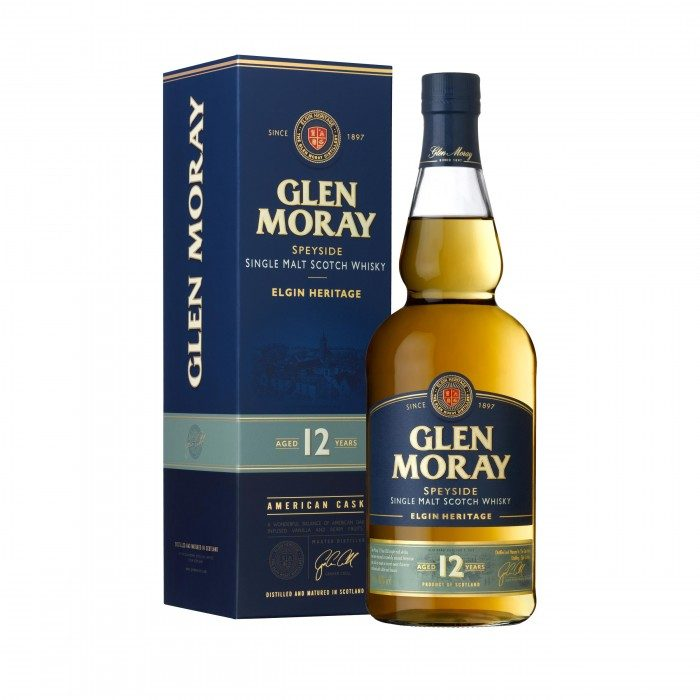 Glen Moray 12 Year Old with box