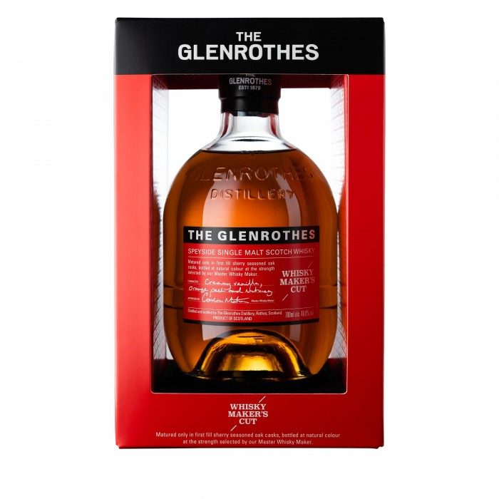 Glenrothes Whisky Maker's Cut in box