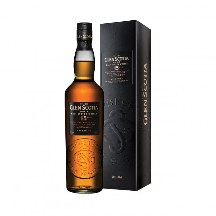 Glen Scotia 15 Year Old with box