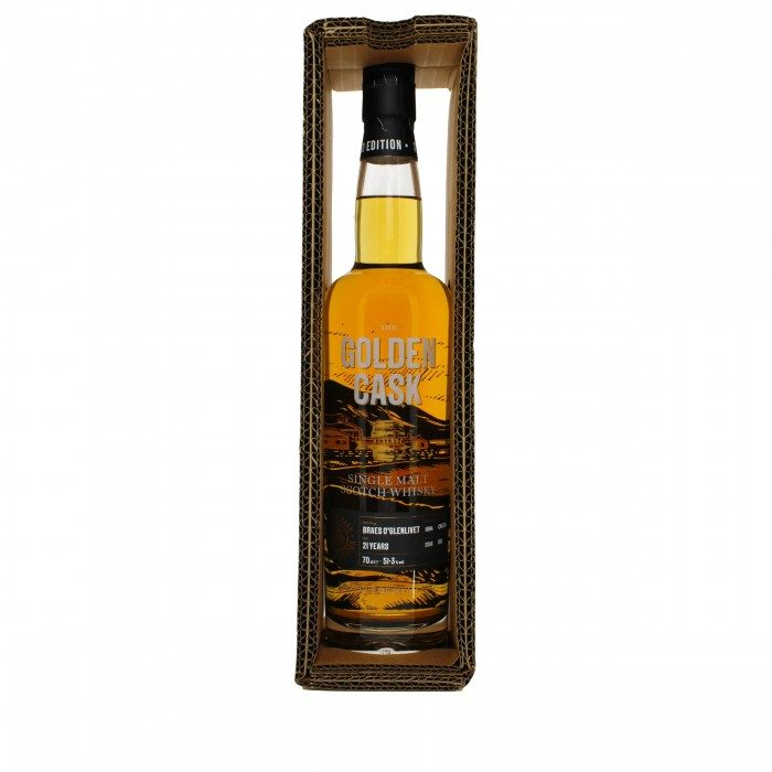 Golden Cask Braes of Glenlivet 21 Year Old