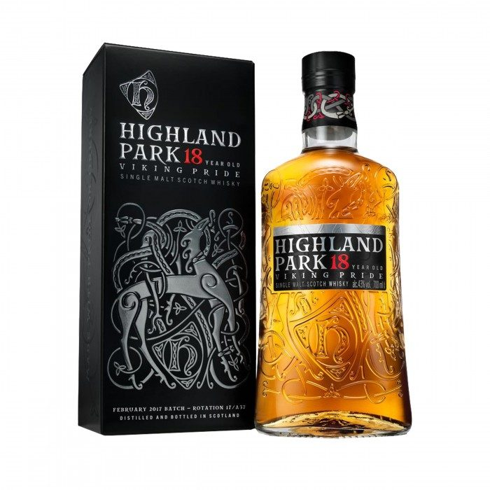 Highland Park 18 Year Old with box