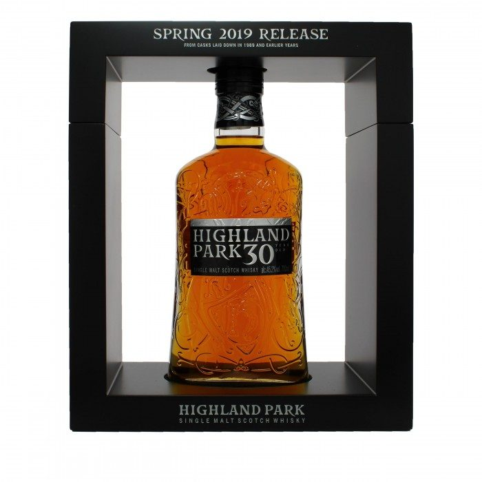 Highland Park 30 Year Old 2019 Release in case