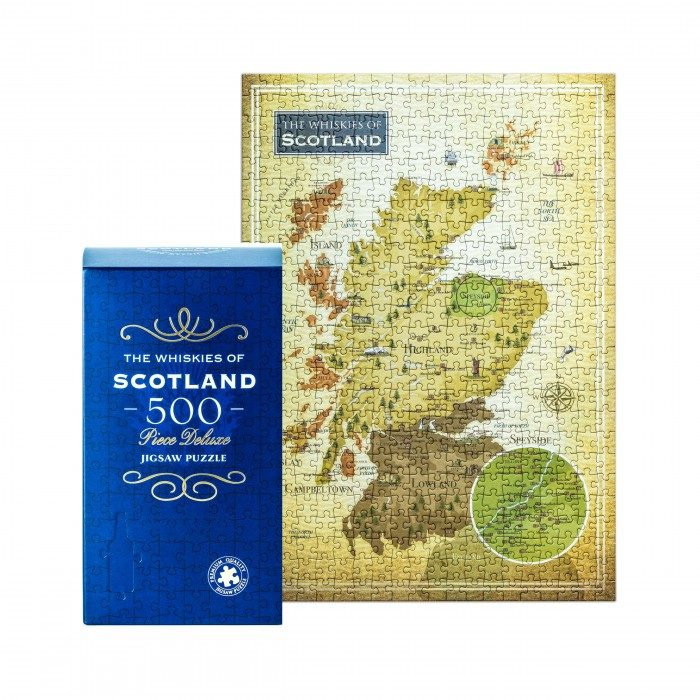 The Whiskies of Scotland 500-piece Jigsaw Puzzle