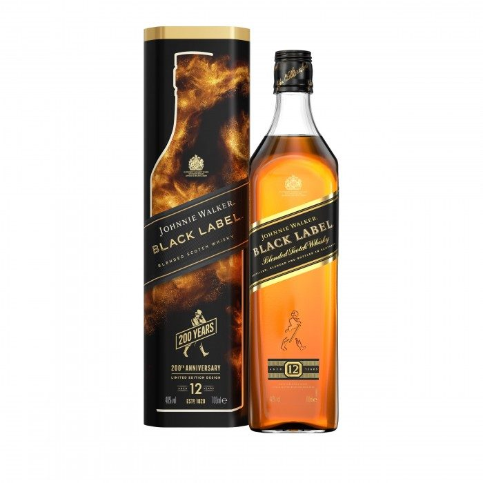 Johnnie Walker Black Label Gift Tin